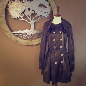 🆕NWT Anthro Elevenses Englae Trench Coat